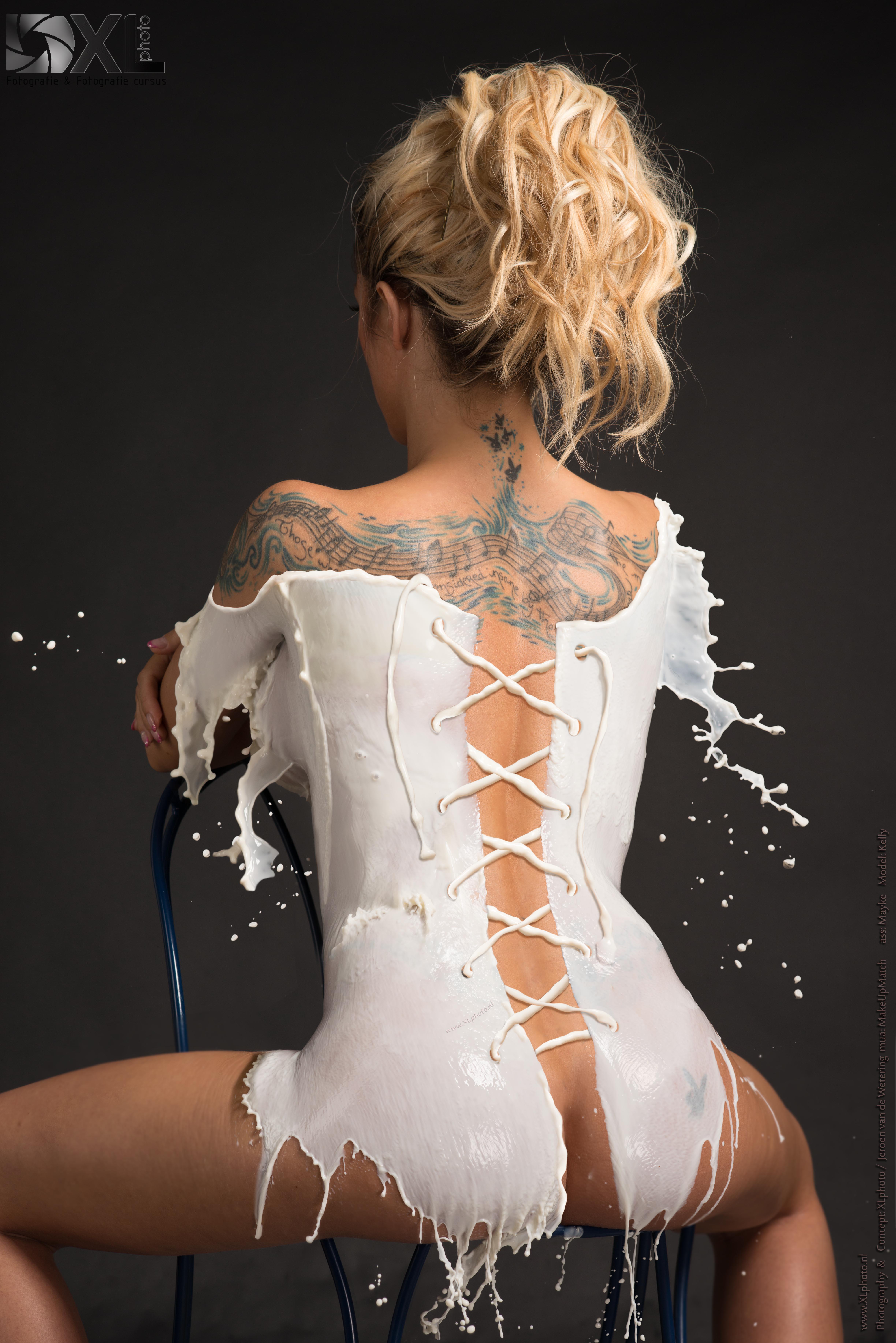 milk corset